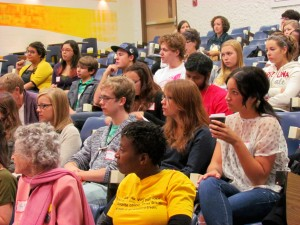 Audience at Get Active 2012 Opening Plenary